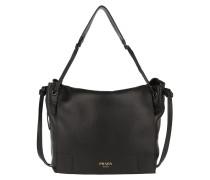 Shoulder Bag Grained Leather Nero Satchel Bag