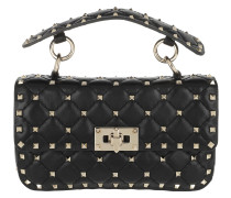 Umhängetasche Rockstud Spike Crossbody Bag Small Nero schwarz