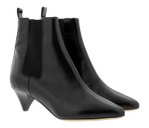Dawell Ankle Boots Leather Black Schuhe