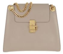 Tote Chloé Shoulder Bag Shiny Calfskin Motty Grey grau