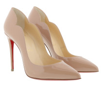 Pumps Hot Chick Patent Pumps 100 Leather Nude beige