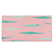 Stacy Patterned Wallet Pinkmajoli