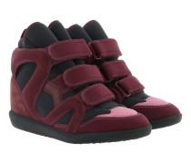 Buckee Sneakers Burgundy Sneakers