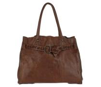 """""""Shopping Bag Laser Iperico B Cognac Tote braun"""
