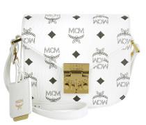 Patricia Visetos Shoulder Bag Mini White gold