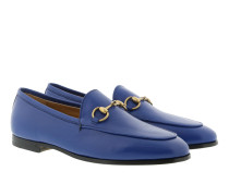 Jordaan Leather Loafer Electric Blue Schuhe