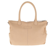 GraceO8 Vintage Shoulder Bag Light Powder Tote