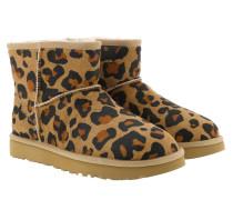 Boots W Classic Mini II Leopard Amphora braun