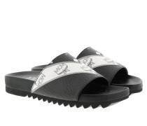 Schuhe W M-Move Visetos Slide Black schwarz