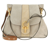 Lexa Medium Crossbody Double Strap Motty Grey Tasche braun