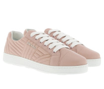 Sneakers Matelassé W Logo Leather Orchidea Sneakers