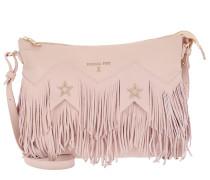 Fringed Shoulder Bag Butterfly Rose Hobo Bag