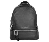 Rucksack Rhea Zip Medium Backpack Black schwarz
