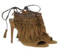 Sandalen Pocahontas Tassel Sandals Khaki grün