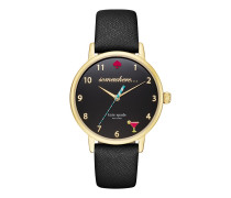 KSW1039 5 O`Clock Somewhere Metro Watch Gold/Black Uhr