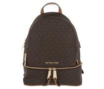 Rhea Zip MD Backpack Brown Rucksack