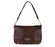 Leather Shoulder Bag Moro Satchel Bag
