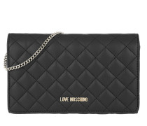 Quilted Nappa Chain Crossbody Bag Nero Tasche