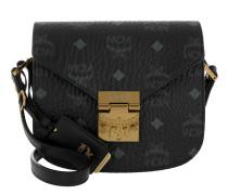 Patricia Visetos Shoulder Bag Mini Black gold