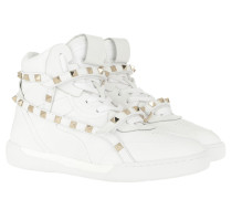 Sneakers Rockstud High Top Sneakers Bianco weiß