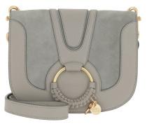 Umhängetasche Hana Shoulder Bag Leather Skylight grau