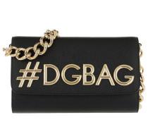 St. Dauphine Shoulder Bag Leather Natural/Black Tasche