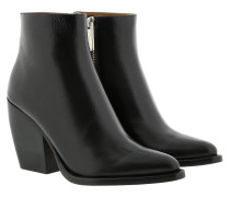Boots Rylee Ankle Boots Leather Black schwarz