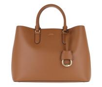 Marcy Satchel Large Field Brown/Orange Satchel Bag