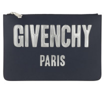 Envelope Iconic Prints Pouch Night Blue Clutch
