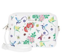 Umhängetasche Camera Case Batik Shoulder Bag White