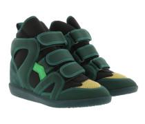 Buckee Sneakers Green Sneakers