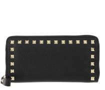 Rockstud Wallet Large Black Portemonnaie