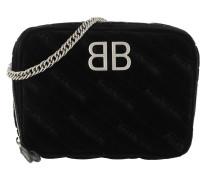 Umhängetasche BB Camera Bag Leather Black schwarz