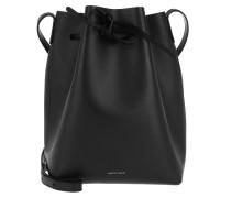 Beuteltasche Classic Bucket Bag Black/Fiamma schwarz