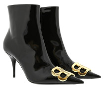 Boots BB Ankle Boots Patent Leather Black schwarz