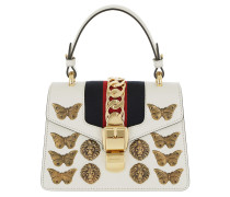 Sylvie Animal Studs Mini Bag White