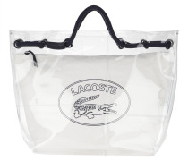 Shopper Summmer Wave Shopping Beach Bag Transparent Peacoat