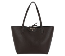 Long Handle Shopping Bag Cocoa/Black Tote braun