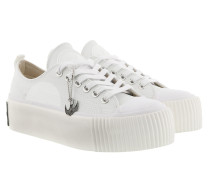 Sneakers Plimsoll Platform Low Sneaker Off White weiß