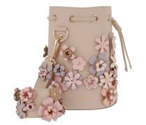 Kasper Flowers Bucket Bag Creme Beuteltasche