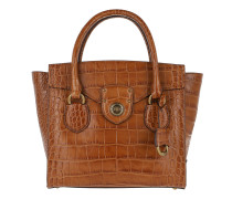 Millbrook Satchel Bag Medium Bourbon Tote