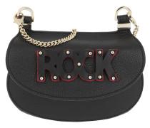 Rock Crossbody Bag Small Black Tasche