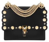 Kan I Small Shoulder Bag Nero Oro