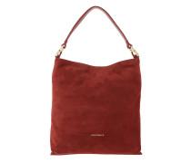 Arlettis Suede Hobo Bag Bourgogne Hobo Bag