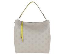 Klara Mini Leather Hobo Large Dove Hobo Bag