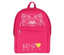 Rucksack Tiger Head Backpack Deep Fuchsia pink