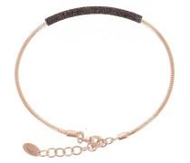Schmuck Bracelet DNA Dust Marrone 750 Roségold-Plated roségold