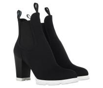 Neoprene Ankle Boots Black Schuhe