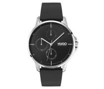 Uhr Men Multifunctional Watch Focus Black