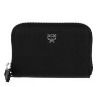 Otti Charm Zippered Card Wallet Mini Black